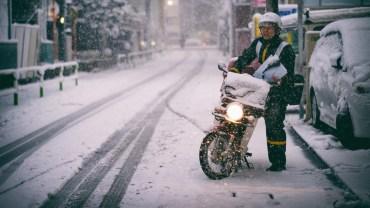 January 22nd, 2018: Nothing stops a Japanese Postman
