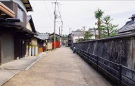 Walking around Gokasho Kondo