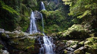 Relaxing waterfall video – Nakatsudani Fall