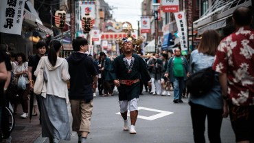 Summer ends: local mikoshi hit the streets