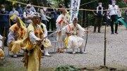Fujisan Kaizan climbing ceremony