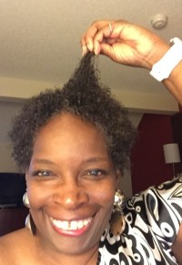 my black woman's hair: not blowout, growout!