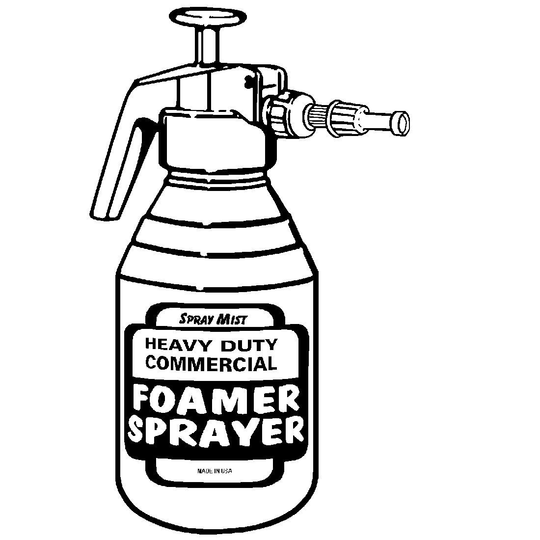 975 Pump-Up Foamer Sprayer & Accessories