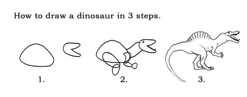 How-To-Draw-a-Dinosaur-Step-by-Step
