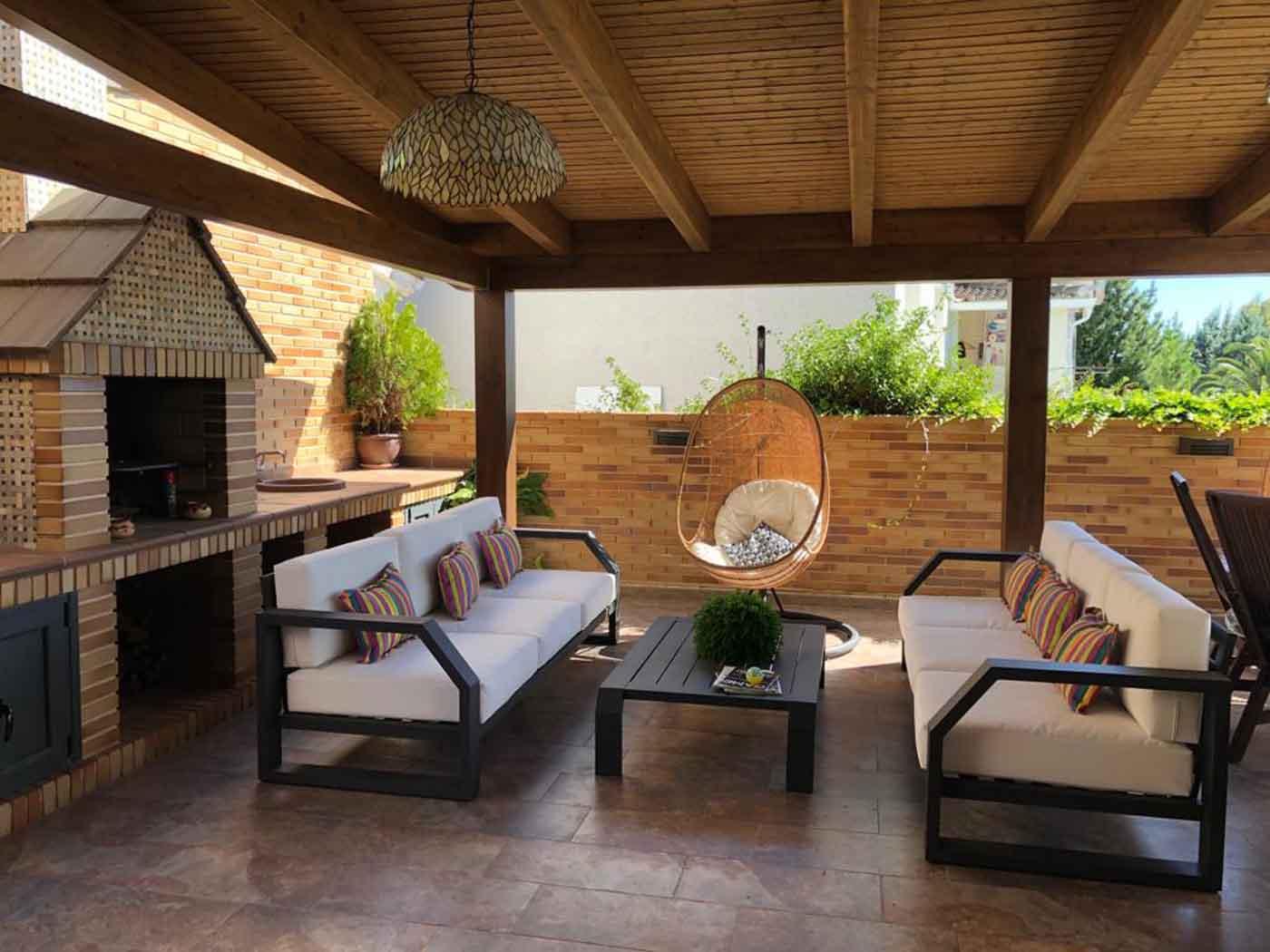 mobiliario jardin madrid toledo