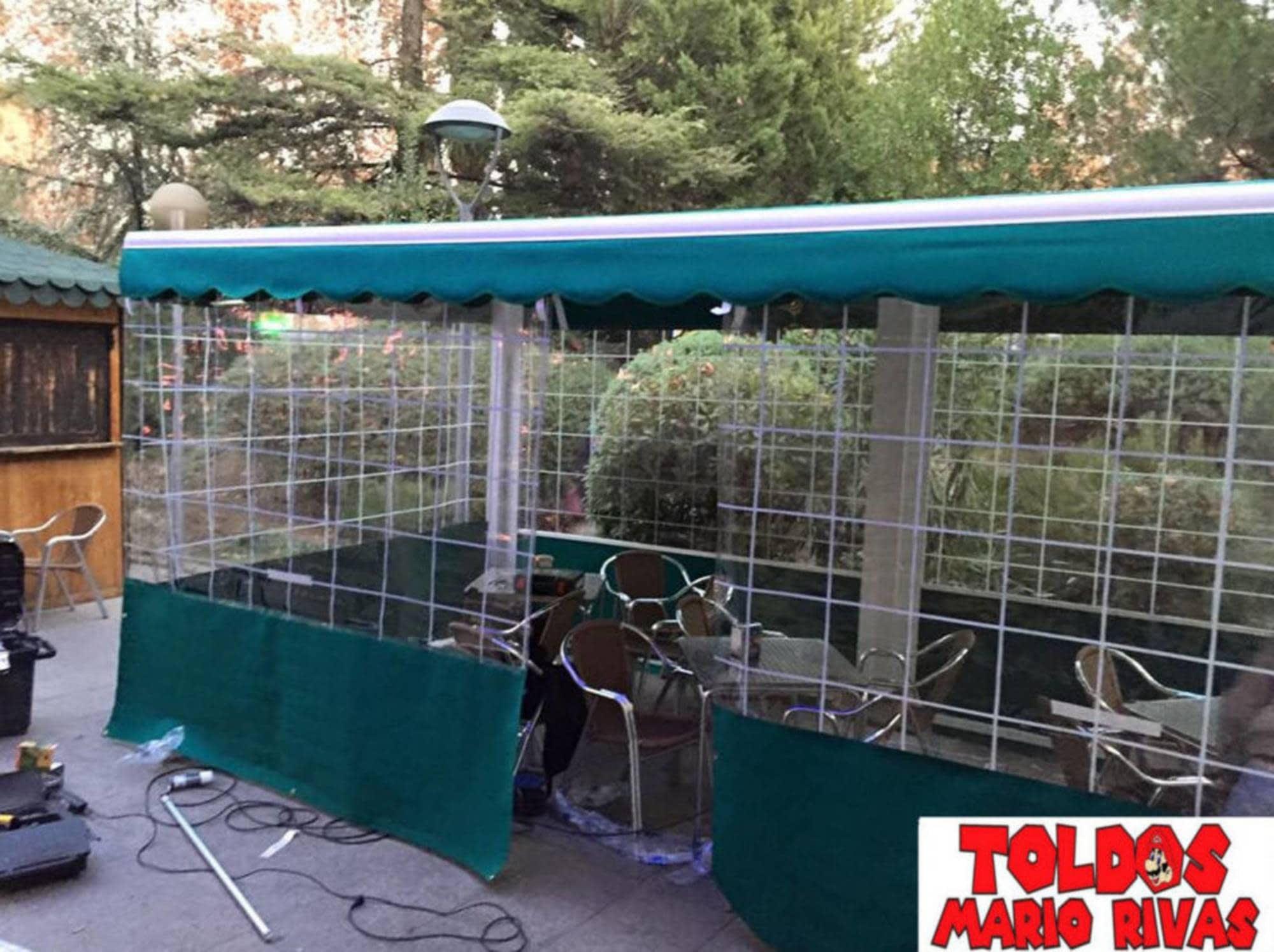 Cerramientos Hostelera  Toldos Mario Rivas  toldos en