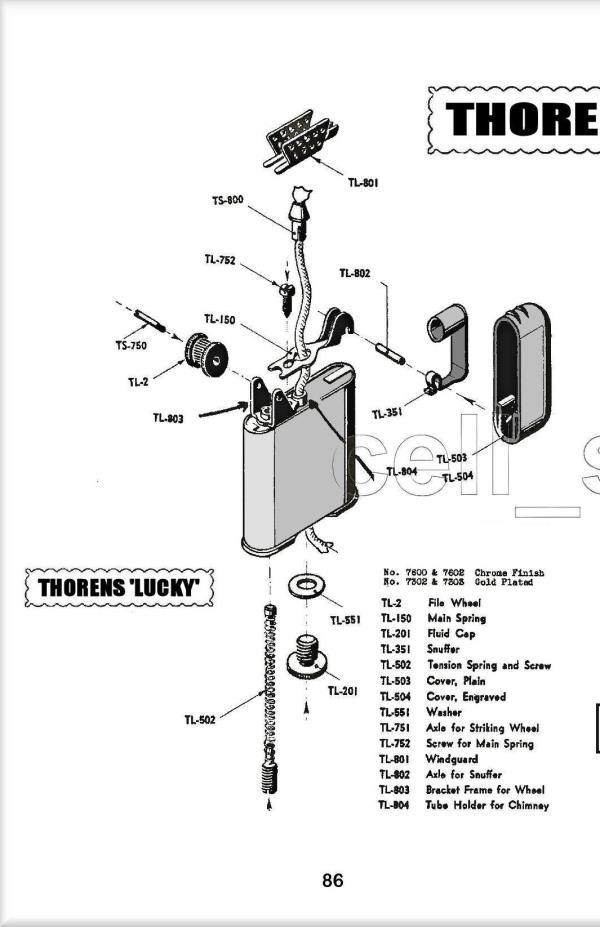 1954 Cigarette Lighter Repair Manual