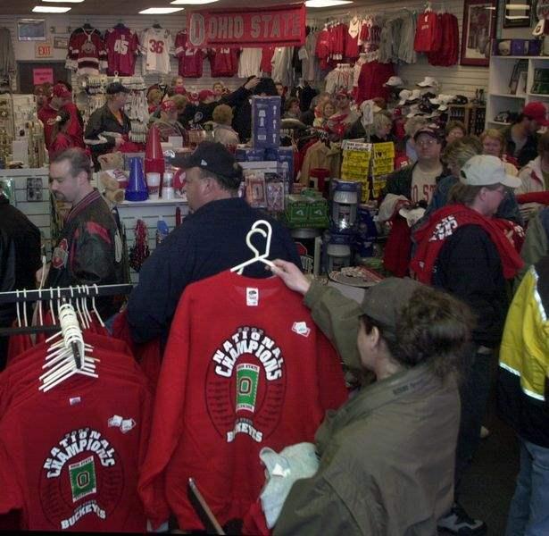 OSU Fans Swarm Area Stores To Spend Big Bucks On Champion