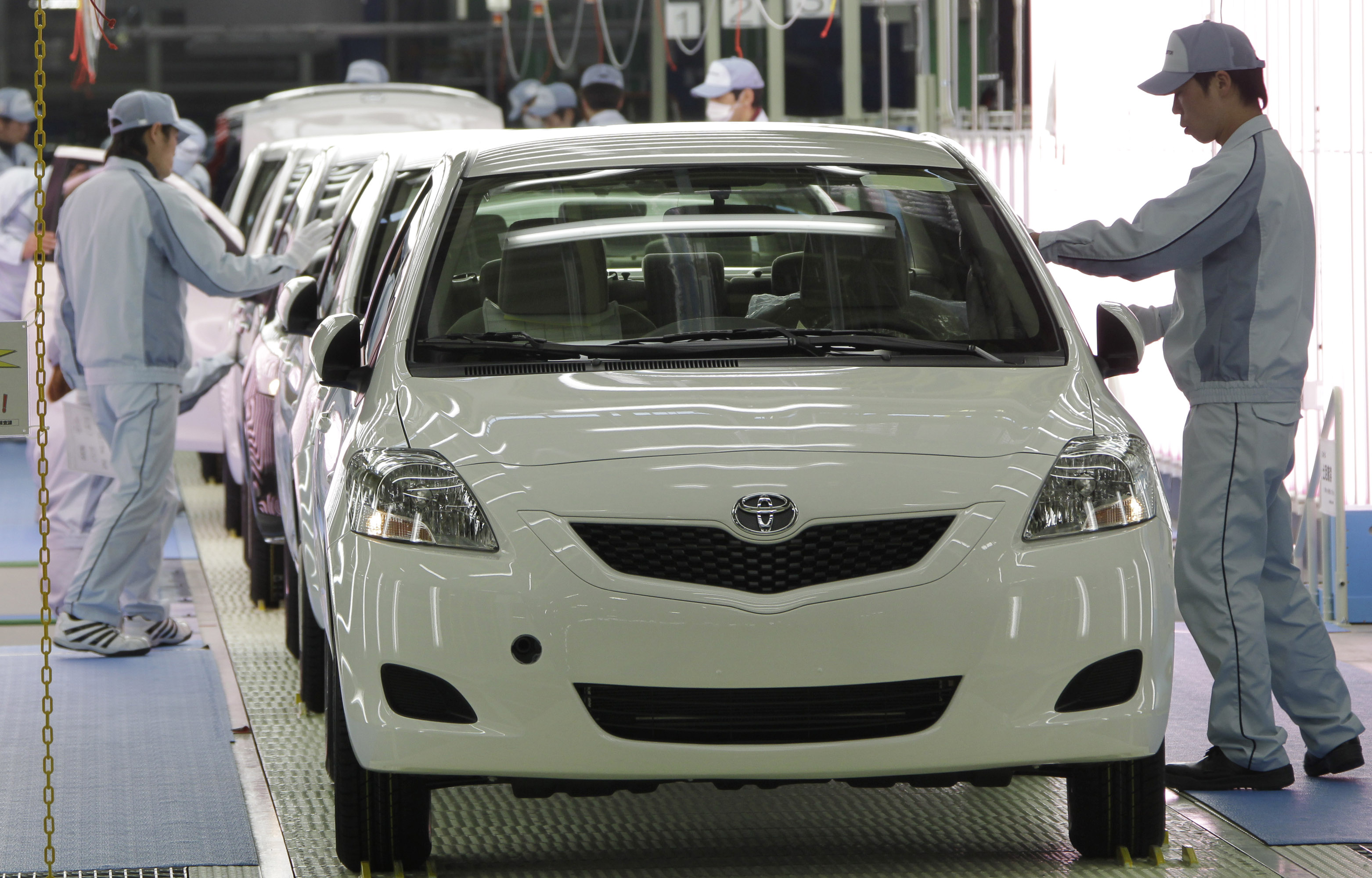 Toyota will resume production at all Japan plants from April 18 to 27 at half normal levels