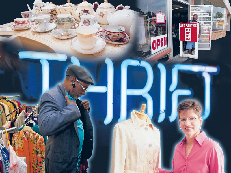 Treasure Hunters Shoppers Find Deals In Thrift Stores The Blade