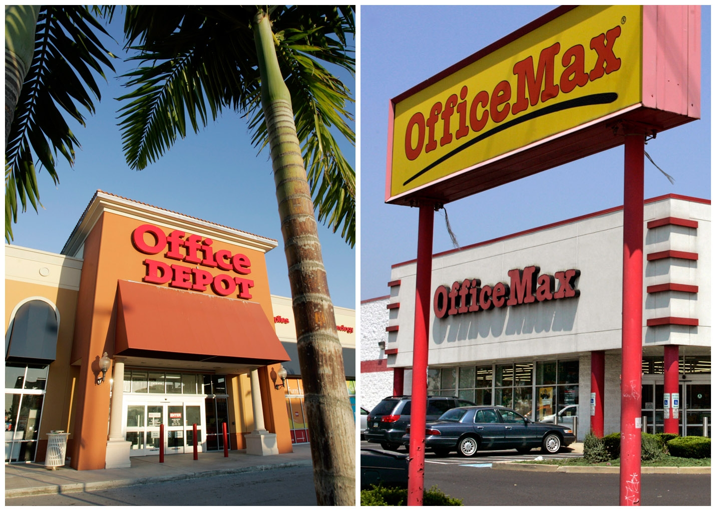 Office Depot joins OfficeMax in 12B deal to stay