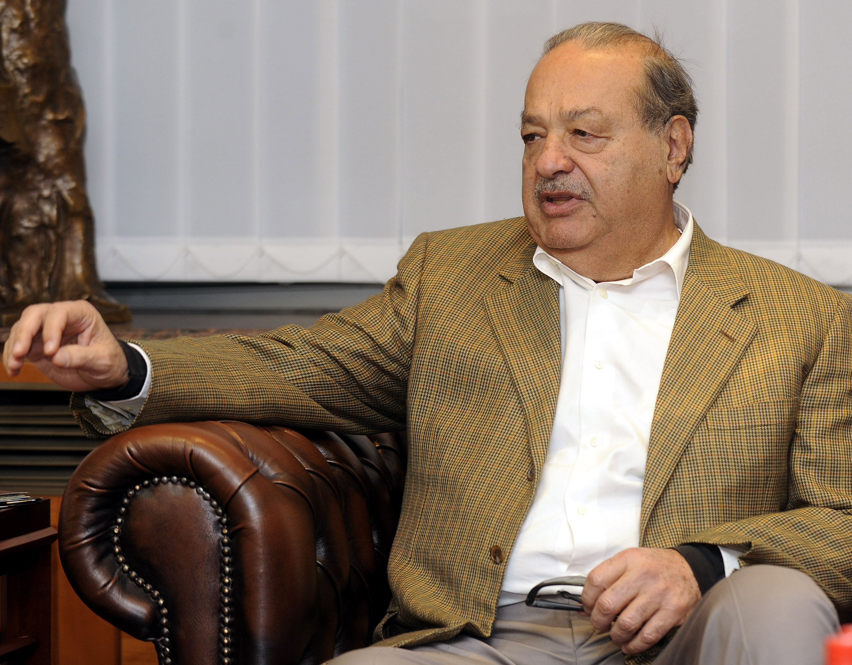 Forbes Carlos Slim worlds richest man for 4th year in a
