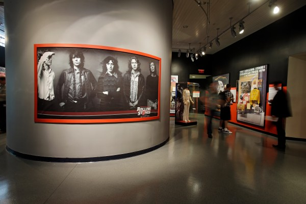 Rolling Stones Exhibit Rock and Roll Hall of Fame