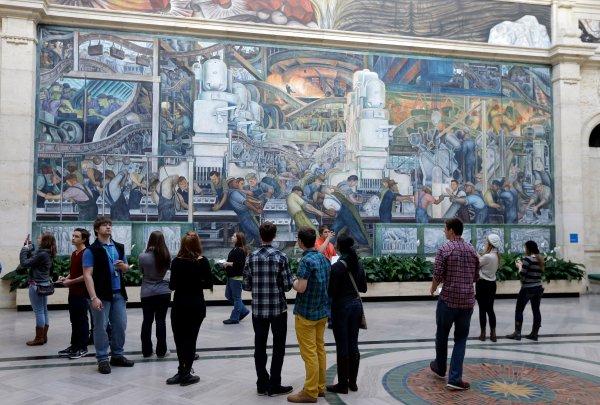 Diego Rivera Detroit Institute of Arts