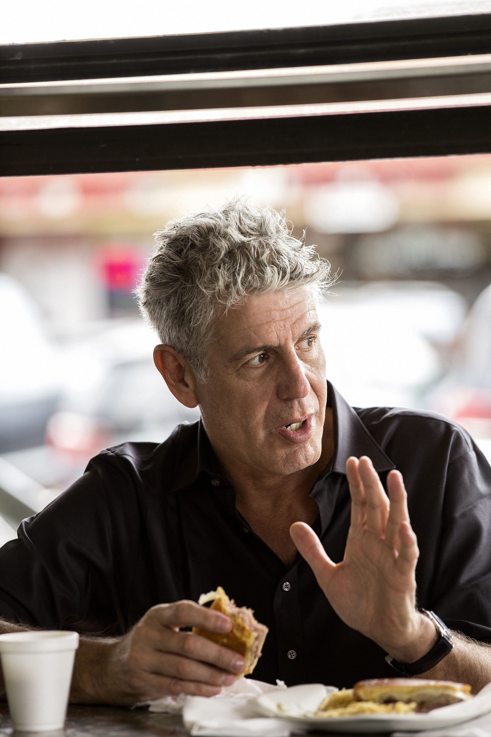anthony bourdain kitchen confidential kohler undermount sinks talks career, state of food tv - the blade