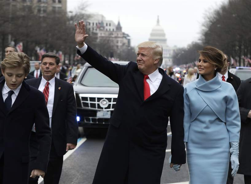 Image result for Presidential Oath of Office donald j. trump and Mike Pence
