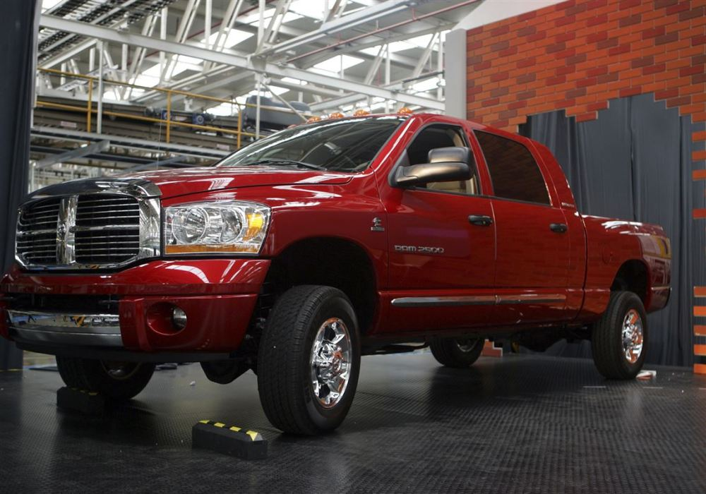 medium resolution of the dodge ram mega cab is fiat chrysler s best selling vehicle some are made
