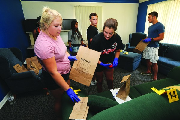 Bgsu Gaining Notice Forensic Science Education - Blade