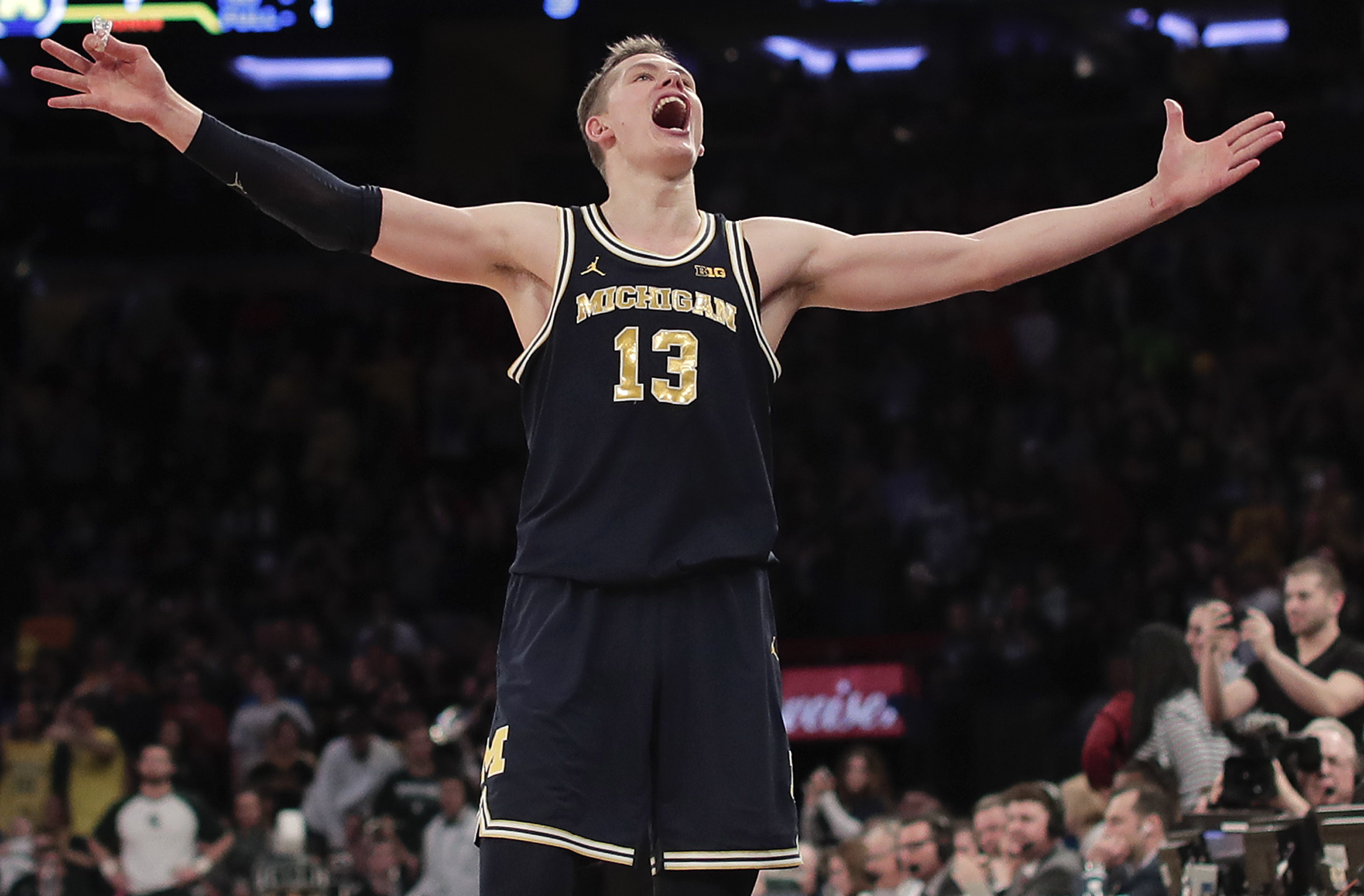 Michigan Beat Michigan State Moves On To Big Ten Title