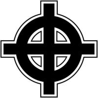 White Supremacy Symbols Cross