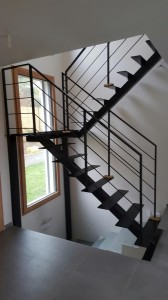 ESCALIER ART METAL FABRICATION A BEAUCHAMP 95 VAL DOISE TOLERIE GENERALE