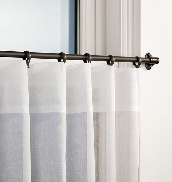 6 Types Of Curtain Rods You Should Know  ToLet Insider