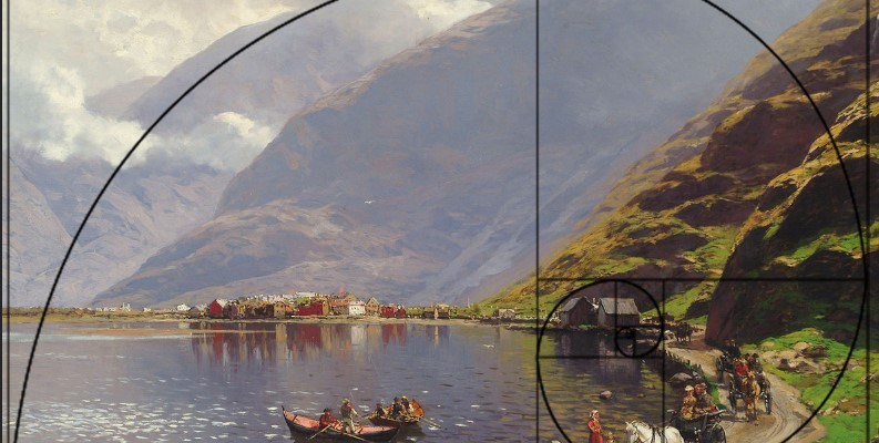 View of Lærdalsøyri, on the Sognefjord, 1901