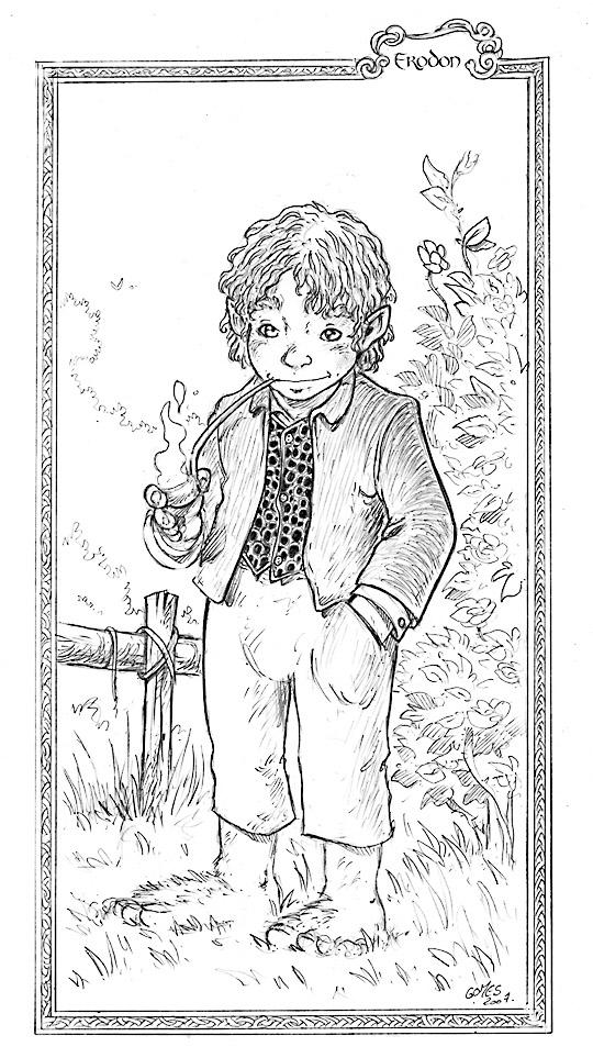 Frodo Sacquet - François Gomez