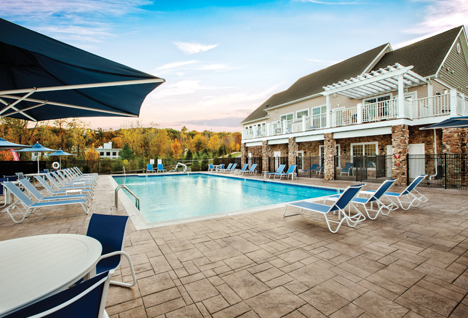 Newtown Woods  Townhome Collection luxury new homes in