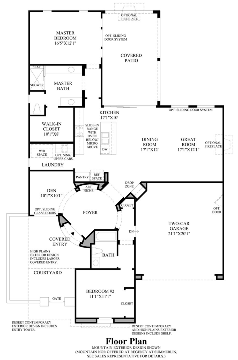 Regency at Summerlin  Summit Collection  The Gilmore NV