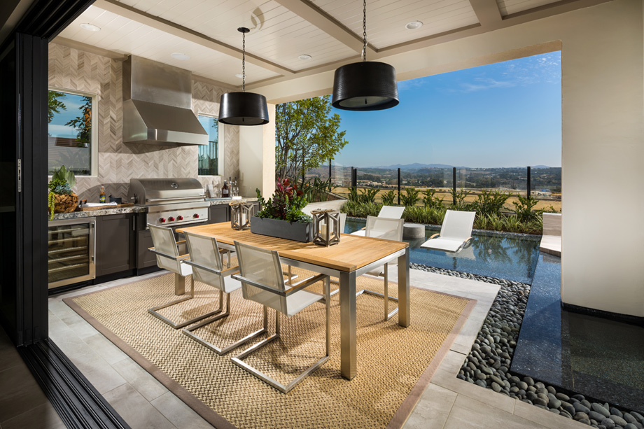tuscan kitchen design photos table and chairs toll brothers at robertson ranch - the bluffs | ...