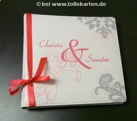 Personlisiertes Gästebuch: