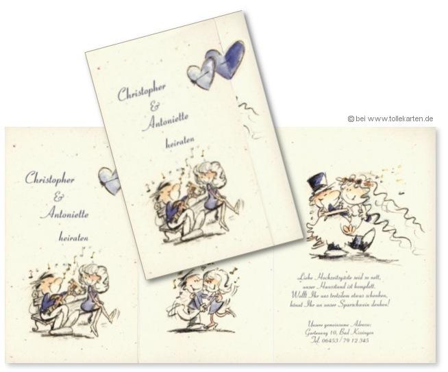 Hochzeitsfest  Einladungskarten
