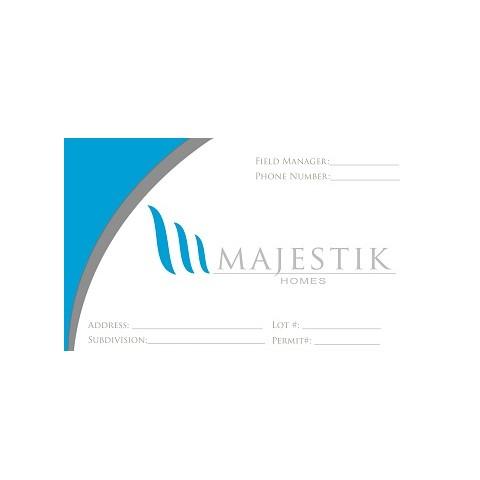 Custom Marquee for EZ Permit Box