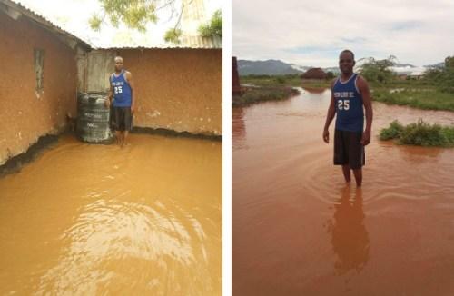 Überschwemmung in Toloha