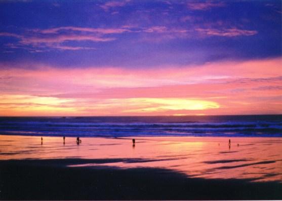 A spectacular Cannon Beach sunset