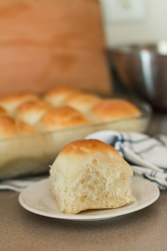 Perfect Dinner Rolls // The search is over! These light, fluffy rolls (courtesy of my favorite Our Best Bites cookbook) means this is my all-time, go-to recipe for perfect dinner rolls, every time!