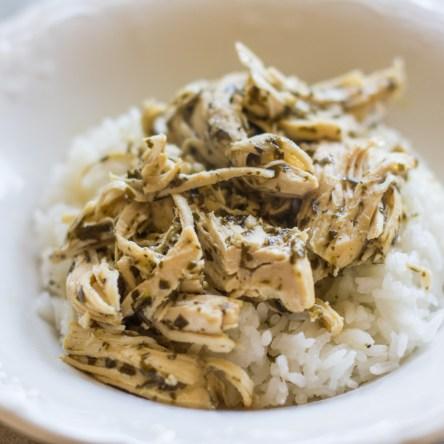3-Ingredient Pesto Ranch Chicken