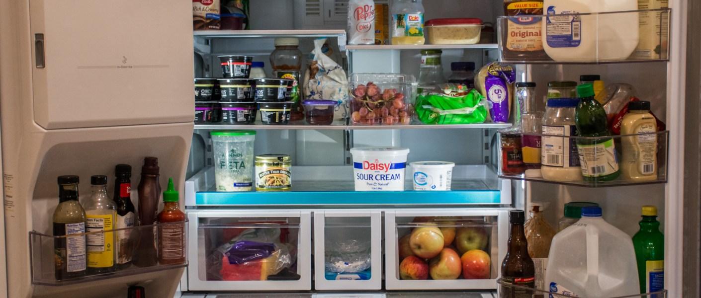 open fridge