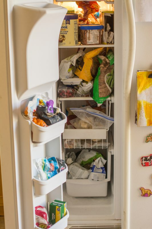Save Money by Using Up What's In Your Freezer #freezerchallenge #save1000in100 #moneysaver #frugal