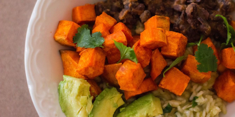 Sweet Potato + Black Bean Rice Bowls
