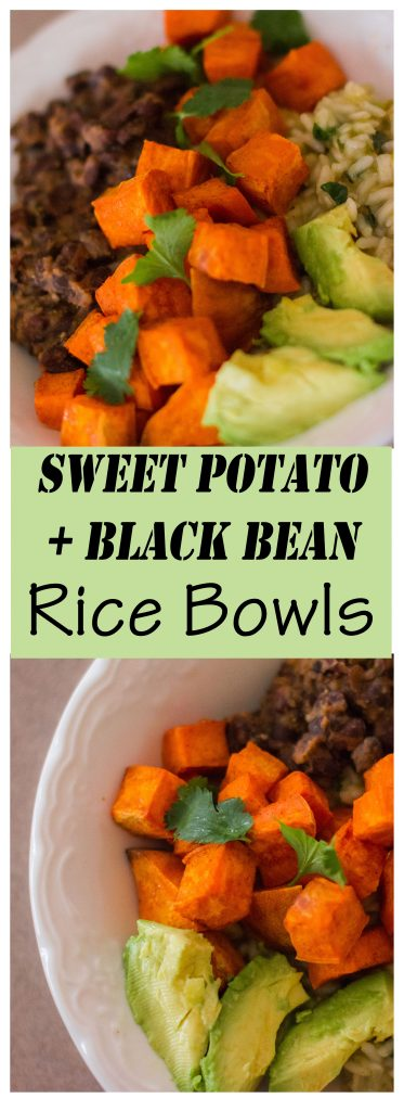 Sweet Potato + Black Bean Rice Bowls // To Love and To Learn