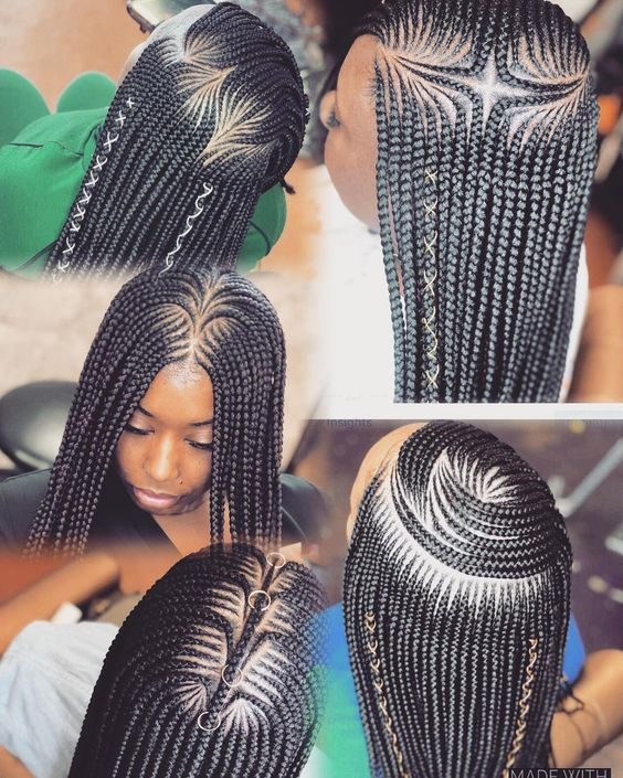 Cornrow Natural Hairstyles 2020 25 Most African Inspired