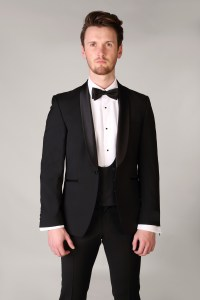 Shawl Collar Black Tuxedo Super Fine Wool - Tom Murphy's ...
