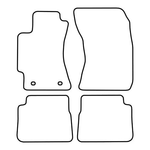 Mattenset Subaru Forester