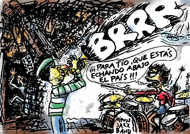 Notas de humor by Kuto. Abril de 2011