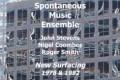 Tomajazz recomienda… Challenge / New Surfacing (Spontaneous Music Ensemble)