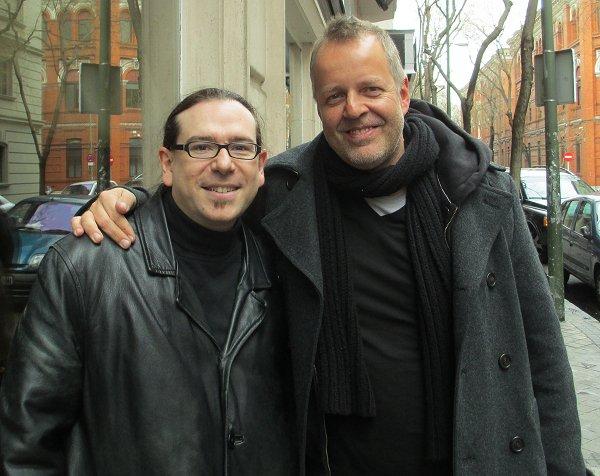 Arturo Mora with Wolfgang Haffner