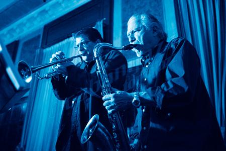 Jerry Bergonzi & Joe Magnarelli © Sergio Cabanillas