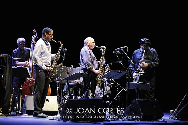 01_SAXOPHONE SUMMIT (©Joan Cortes)_19oct13_45FIJazzBcn_Teatre-Auditori_Sant Cugat (Bcn)